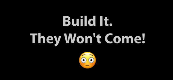 Build It - They Wont Come WordCamp Mumbai 2016 - Cover