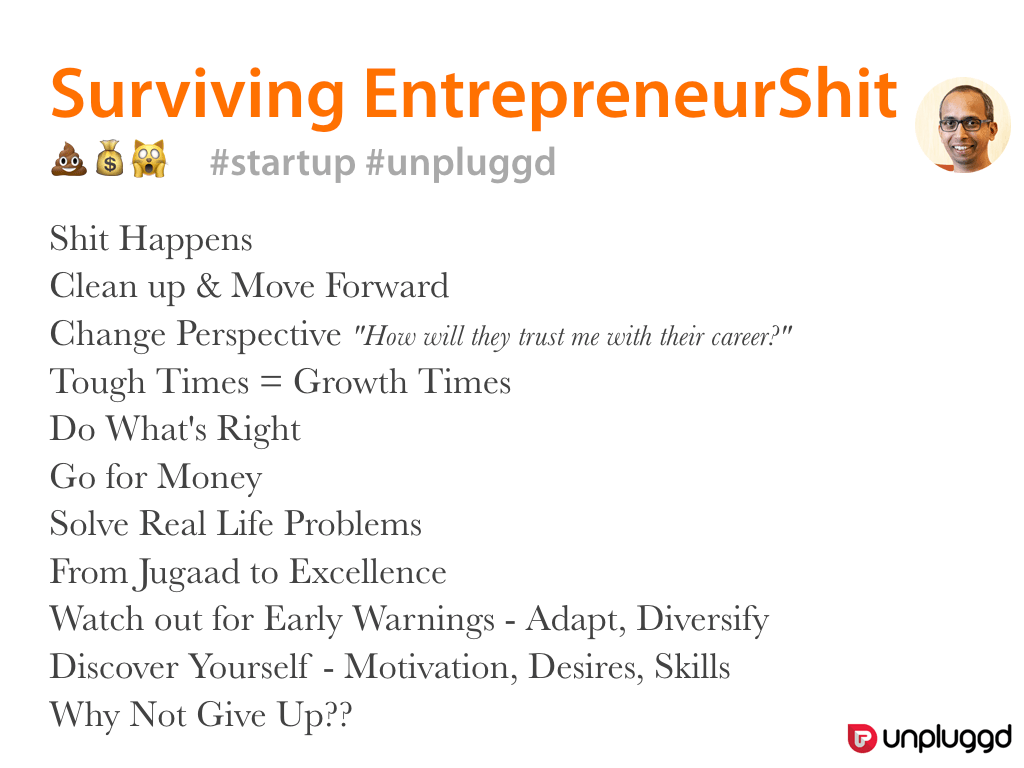 Surviving EntrepreneurShit